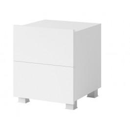 Noční stolek Celeste, bílý