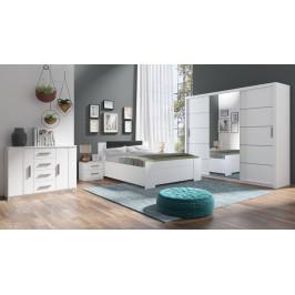 Ložnice Bern B, bílá