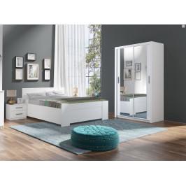 Ložnice Bern C, bílá