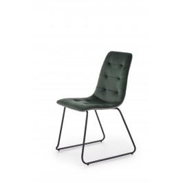 Jídelní židle H1313, zelená
