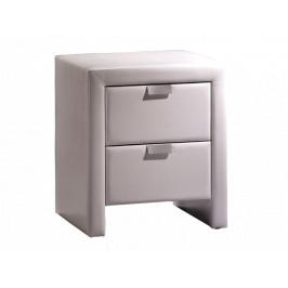 Noční stolek Nana, bílý