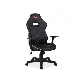 Kancelářská židle SIG630, černá/bílá