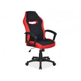 Kancelářská židle SIG631, černá/červená