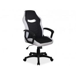 Kancelářské křeslo H631, černá/šedá