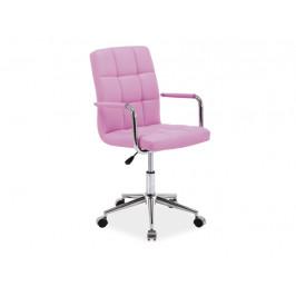 Kancelářská židle SIG638, růžová