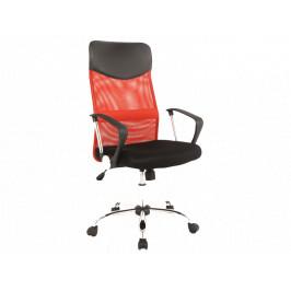 Kancelářské křeslo SIG639, červeno-černé