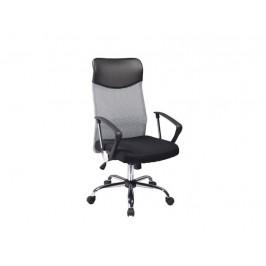 Kancelářské křeslo SIG639, šedé/černé