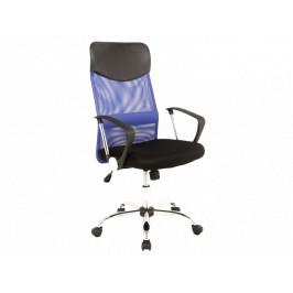Kancelářské křeslo SIG639, modré/černé