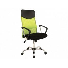 Kancelářské křeslo SIG639, zeleno/černé