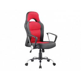 Kancelářské křeslo SIG640, černo/červené