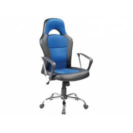 Kancelářské křeslo SIG640, modro/černé