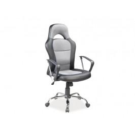 Kancelářské křeslo SIG640, černo/šedé