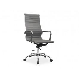 Kancelářské křeslo SIG652, šedé