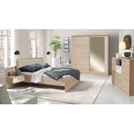 Moderní ložnice Efka, sonoma