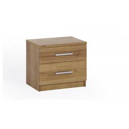 Noční stolek Bern, dub zlatý