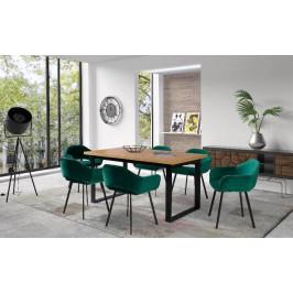 Luxusní jídelní set Lamart (stůl + 6x židle)