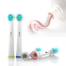 4 kusová sada hlavic k elektrickému zubnímu kartáčku