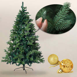 3D vánoční stromeček s kovovým stojanem v několika velikostech
