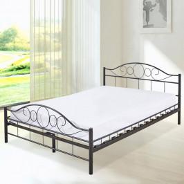Kovový postelový rám s roštem jako dárek, ve 2 rozměrech a barvách