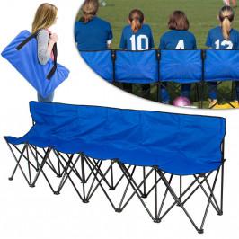 Skládací přenosná lavice s taškou na nošení jako dárek, pro 6 osob