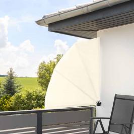 Skládací zástěna na balkón, 140 cm, 2 barvy