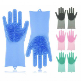 Silikonové mycí a čisticí rukavice