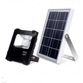 LED reflektor se solárním panelem, 4 typy