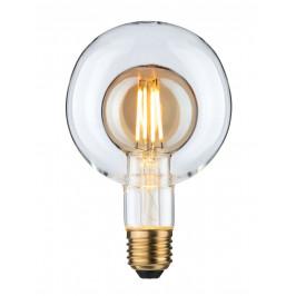Paulmann 28769 LED Inner Shape Globe G95, LED žárovka se zlatým a čirým sklem 4W LED E27 2700K, stmívatelná, prům. 9,5cm