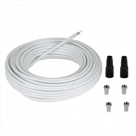 HAMA 56607 Connection Kit+4 F-Plugs,20 m