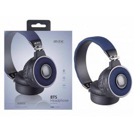 M.TK BT sluch. FM K3553, modrá 0351145