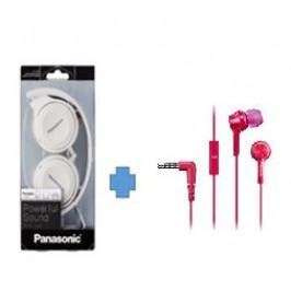 Panasonic RP-HF100E-W bílá + dárek TCM105E-P