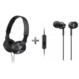 Sony sluchátka MDR-ZX310AP + MDR-EX110AP
