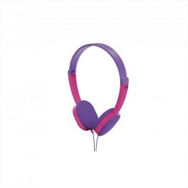 HAMA 177014 dětská sluchátka Kids, fialová/růžová
