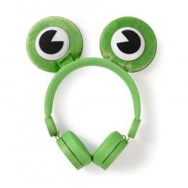 Nedis Dětská sluchátka Žabka HPWD4000GN