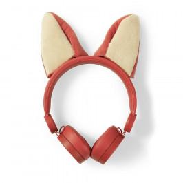 Nedis Dětská sluchátka Liška HPWD4000OG