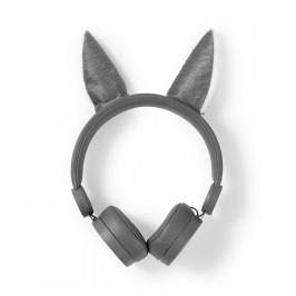 Nedis Dětská sluchátka Vlk HPWD4000GY