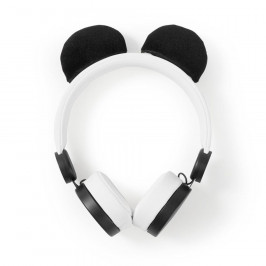 Nedis Dětská sluchátka Panda HPWD4000WT