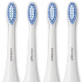 Concept ZK0002 Náhradní hlavice k zubním kartáčkům PERFECT SMILE ZK4000, ZK4010, ZK4030, ZK4040, Soft Clean, 4 ks
