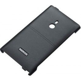 Nokia CC-3037 Black pevný kož.kryt Nokia