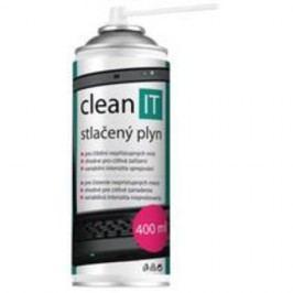 CLEAN IT CL-1,102 stlačený vzduch 400ml