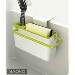 JOSEPH JOSEPH Stojánek na mycí prostředky Sink Aid™, bílý/zelený