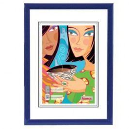 Hama rámeček plastový MADRID, modrý, 21x29,7cm