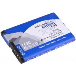 AVACOM PDBB-8700-S1050 Li-Ion 3,7V 1050mAh - neoriginální - Baterie do mobilu BlackBerry 9300 Li-Ion 3,7V 1050mAh (náhrada C-S2)