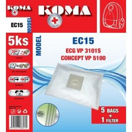 Koma EC15S - ECG VP 3101S SMS