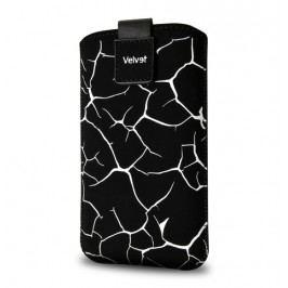 Fixed Velvet, pouzdro mikroplyš, Split White, XL