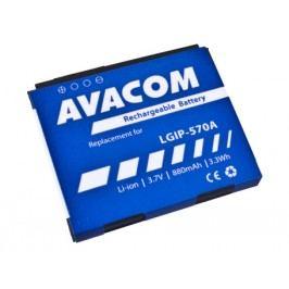 AVACOM GSLG-KP500-S880A Li-Ion 3,7V 880mAh - neoriginální - Baterie do mobilu LG KP500 Li-Ion 3,7V 880mAh (náhrada LGIP-570A)