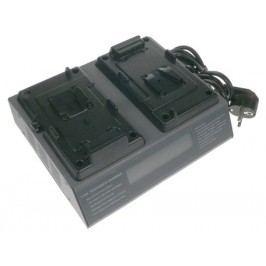 Nabíjecí dvoukanálová souprava PROFI Sony BP-L40, BP-L60, BP-65H, E-70S patice V-mount