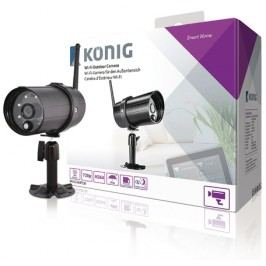 König Wi-Fi venkovní kamera HD, IP66