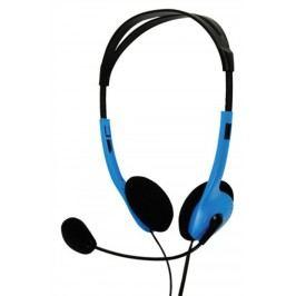 basicXL Stereo headset, modrý