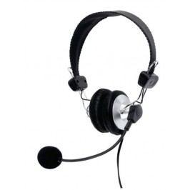 König Komfortní stereo headset